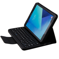 PU Detachable Wireless Bluetooth Keyboard Protective Case Cover for Samsung Galaxy Tab E 9.6 Tablet SM T560 / T561 / T565 funda