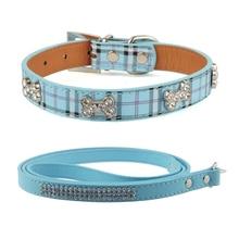 Buy  llar & Soft PU Dog Lead Strap Dog Supplies  online