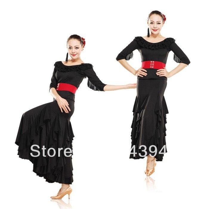 Plus size flamenco dress