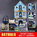 2016 New Lepin 15007 Factory City Street European Market Model Building Block Set Bricks Kits Compatible 10190 Toys
