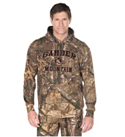 Autumn and winter hunting camouflage jungle camouflage Bionic fishing fleece sweater pullover jacket with a hat