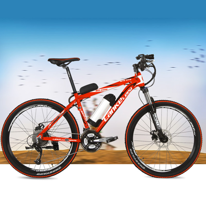 MX2000 27 Speeds 26 36V 48V 240W Aluminum Alloy Frame Lithium Battery Electric font b Bicycle