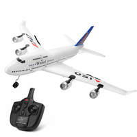 RC Fixed wing XK A150 Airbus B747 Model Plane 3CH EPP 2.4G RC Remote Control Airplane Short Charging Time RTF Glider Toy