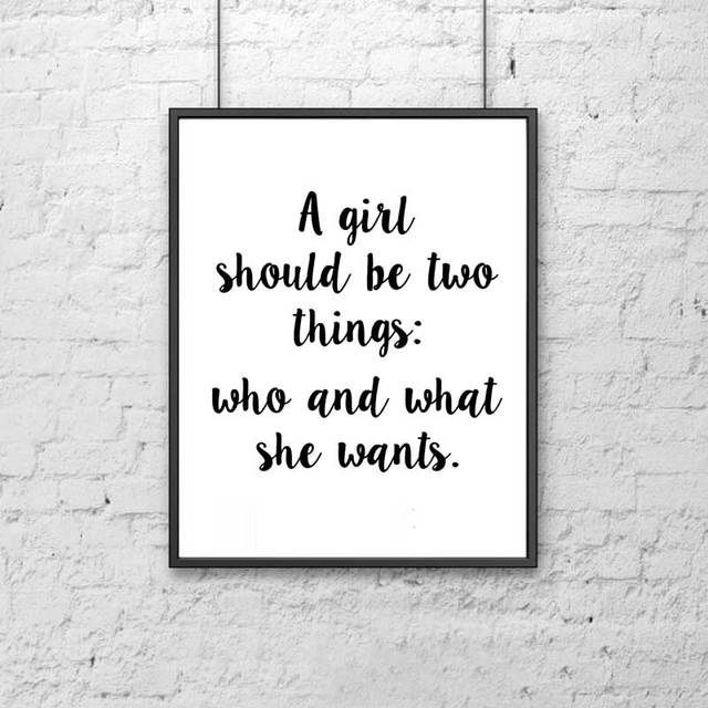 Wall Hanging Quotes Party Decorations Fashion Poster Inspiring Wall Art Sister Wall  Wall Hanging Quotes