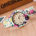 2016 Floral Flower GENEVA Watch garden beauty and cute bracelet watch Women Wrist Watch Luxury Quartz Watch Relogio Feminino
