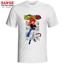 Gogeta Super Saiyan 4 SSJ4 T Shirt Dragon Ball GT Fusion Hero Cool Design Rock T-shirt Anime Casual Creative Men Women Tee