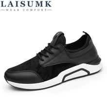 2019 LAISUMK Fashion Casual Men Shoes Breathable Mesh Male Brand Sneakers Cheap