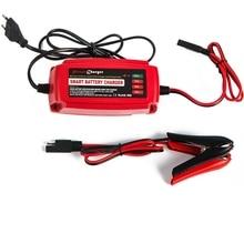12 В 5A салона автомобиля скутер Батарея Зарядное устройство сопровождающий и desulfator 4-сцена для AGM гель мокрый Аккумуляторы 10-100AH Гарантия 2 года