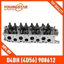 Полный цилиндр головка D4BH(4D56) 908612 H-100/KMY/L-300 старая модель торчащих клапан версия