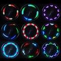 Venta caliente 14 LED Bicicleta de Ciclo de Bicicletas Señal Del Rayo Del Neumático de la Rueda luz Para Ciclismo 32 Cambios Nueva Luces Led Bicicleta Luz de la Bici