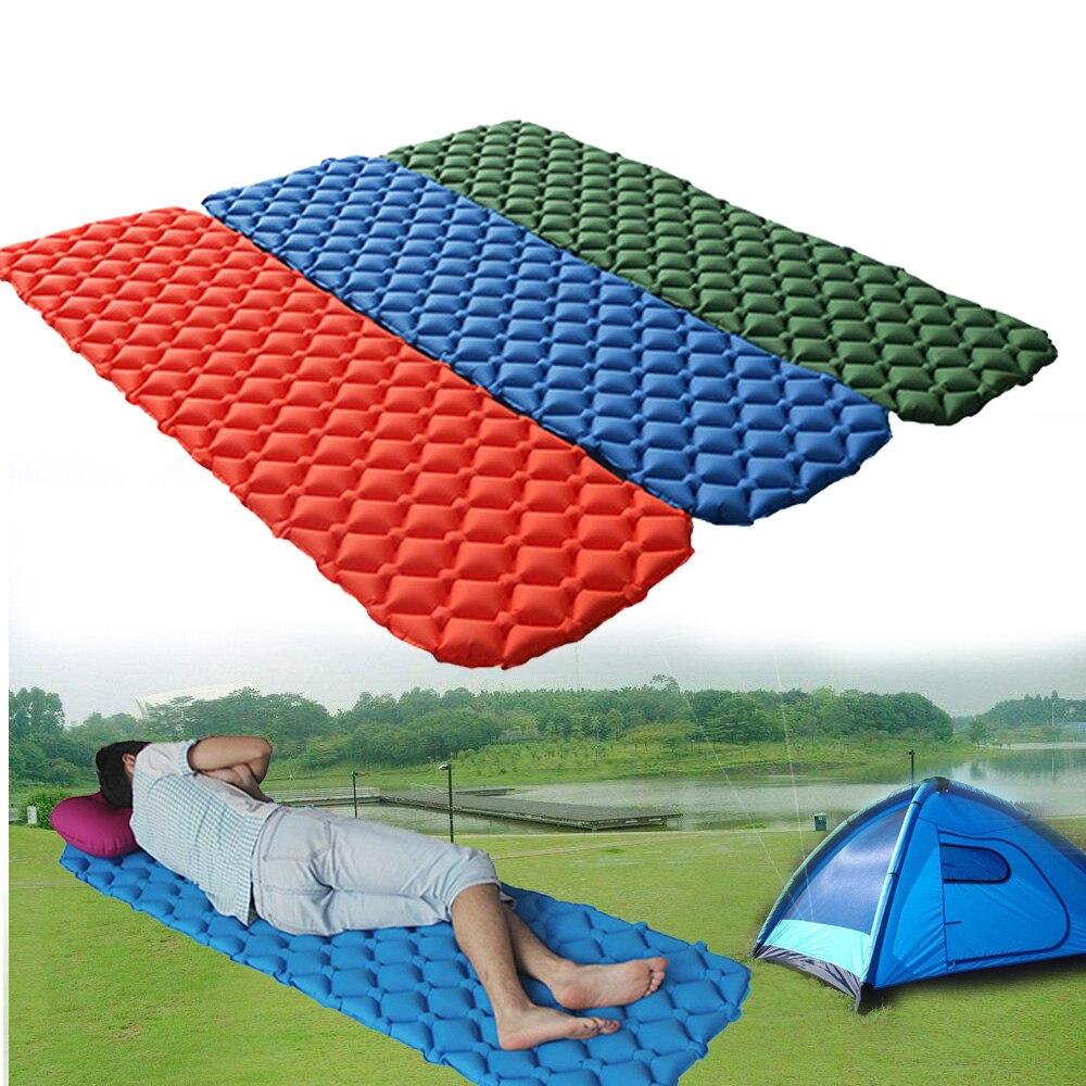 ultraleve colchao da cama colchao de ar inflavel camping piquenique relaxar colchao colchao almofada de dormir