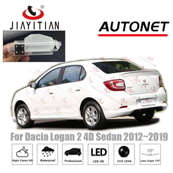 JiaYiTian Voiture Caméra de Recul Pour Dacia Logan 2 Renault Logan 2 Berline 2012 2013 2014 2015 2016 2017 2018 2019 caméra de recul CCD