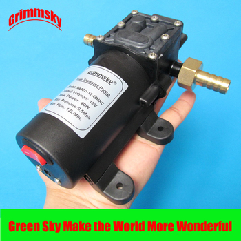 max. 12l/min. big flow rate 12v DC 40W with on/off button and dc jack vehicle oil suction pump