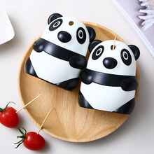 Creative automatic toothpick holder cartoon panda box fashion personality cute koala jar