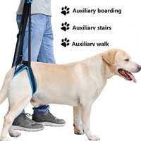 2019 neue Einstellbare Hund Lift Harness für Zurück Beine Pet Unterstützung Sling Helfen Schwach Beine Stand Up Pet Hunde Hilfe assist Tool
