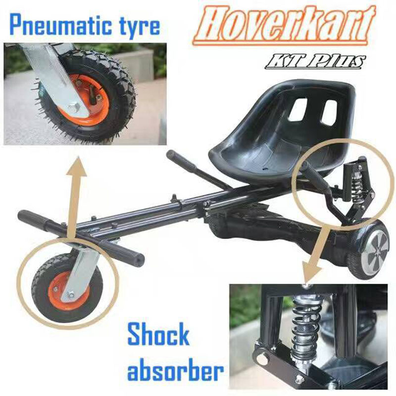 Newest Hoverkart Seat Hoverboard Go Kart Frame With Damper Karting ...