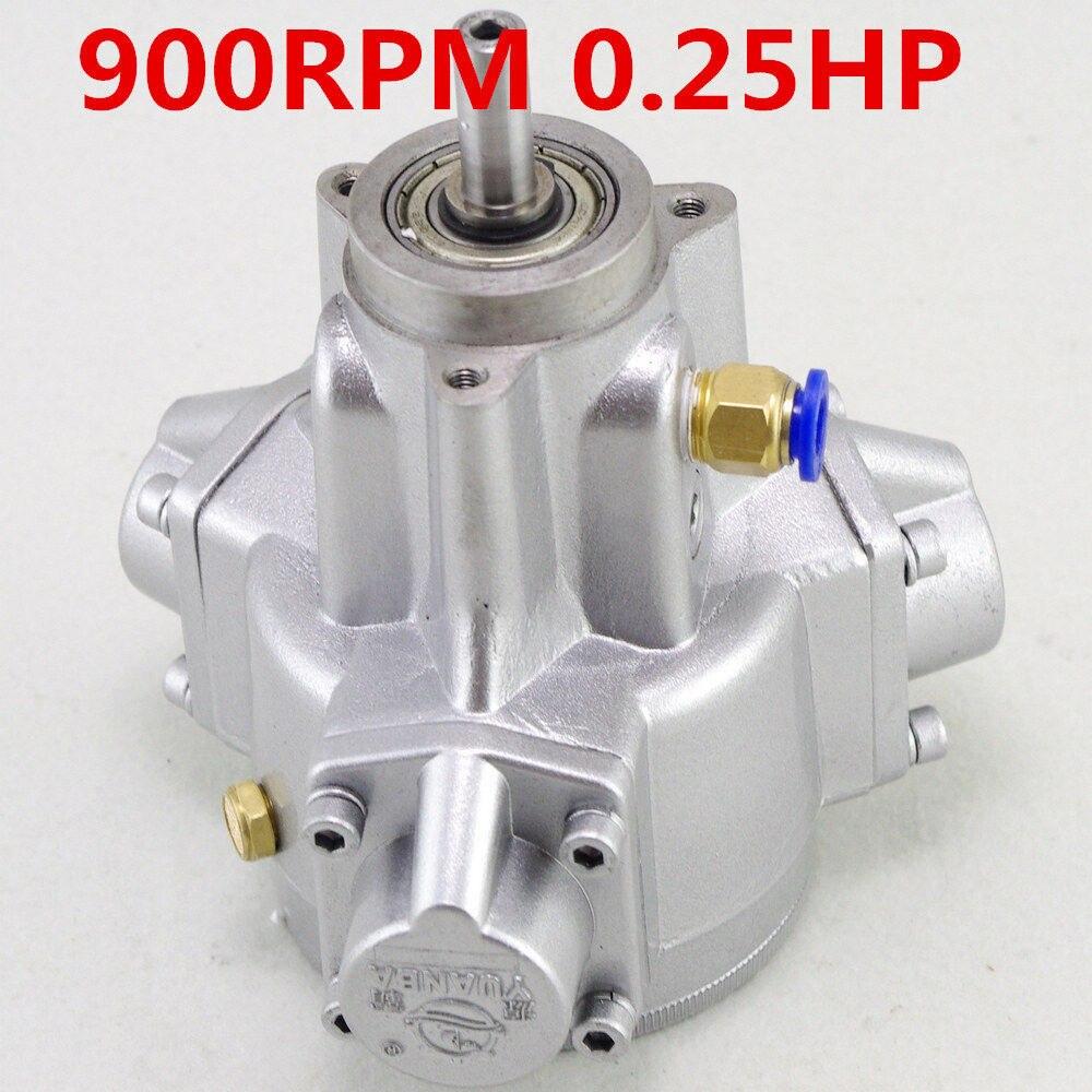 (1) moteur pneumatique à Piston Radial 900/1100/1400 RPM 0.05/0.1/0.2/0.25HP 8/10/14mm arbre