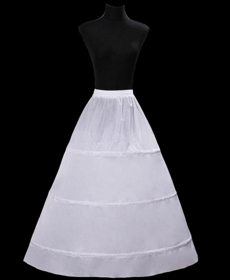 3 cerceaux jupon pour robe de marie femmes une ligne jupon de marie crinoline jupon - Jupon Mariage 3 Cerceaux