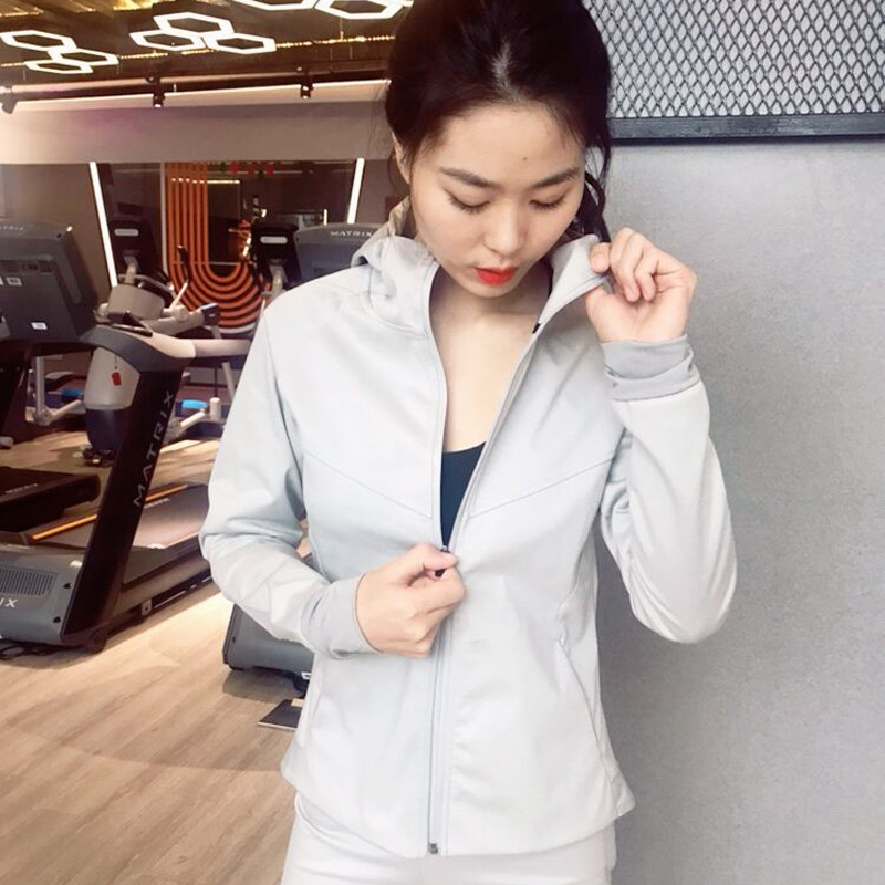 Winter Warm Body building Clothes Sweat Suit High Waist Sweat Slimming Clothes Sports Skinny Leg Running Jackets Yoga Sweat Suit