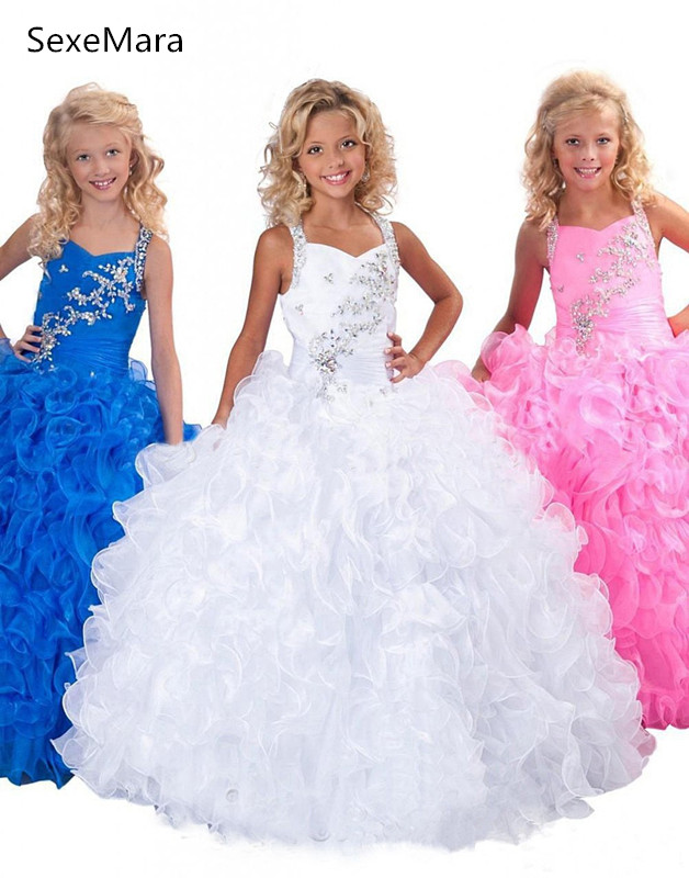 Fashion Ball Gown Flower Girls Dresses for Wedding Pageant Dresses Ball Gowns Girls First Communion Dress fashion ball gown flower girls dresses for wedding pageant dresses ball gowns girls first communion dress