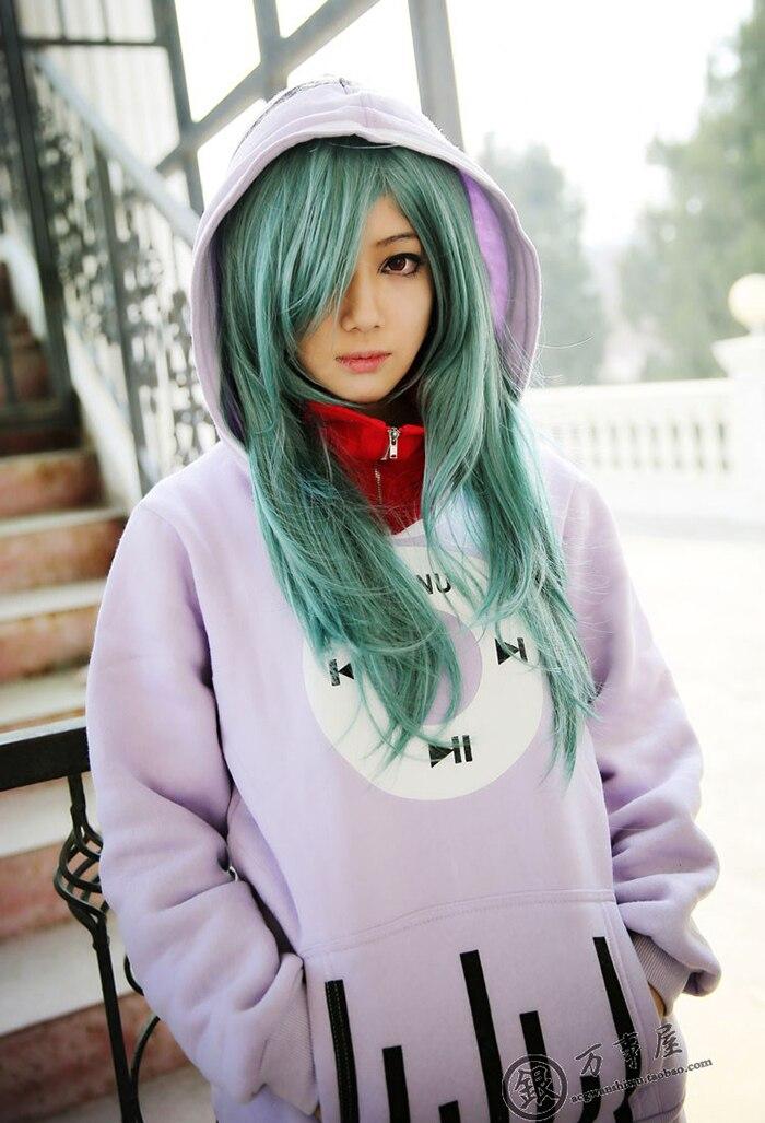 Nouveau Kagerou projet Kido Tsubomi Cosplay Costumes musique manteau veste à capuche molleton sweat XXXL