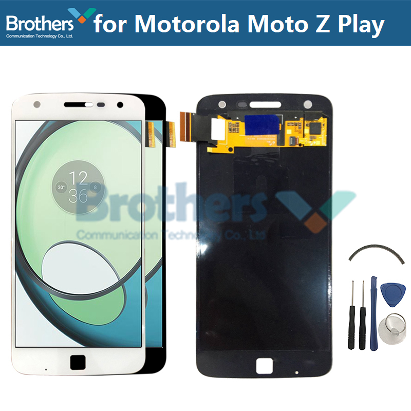 LCD Screen for Motorola Moto Z Play <font><b>XT1635</b></font> LCD <font><b>Display</b></font> AMOLED Moto Z Play Touch Screen Digitizer for <font><b>XT1635</b></font> LCD Assembly Tools image