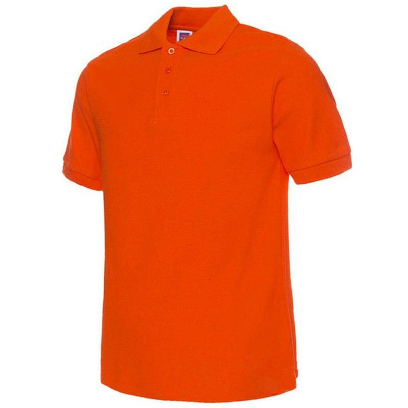 Moške polo majice, moške polne barve, polo majice Camisa Masculina, - Moška oblačila - Fotografija 4
