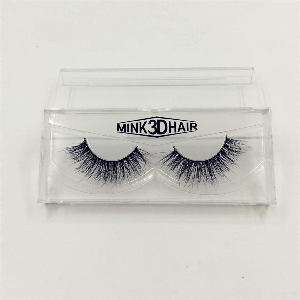 1 Para 100% Real Nerz 3D Kreuz Dicke Falsche Wimpern Verlängerung Makeup Super Natürliche Lange Mode Pro weiche Falsche Wimpern