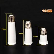 65mm - 120mm E27 to Lamp Holder Converter Heat Resistant Socket Light Bulb Adapter Plug Extender Led Use