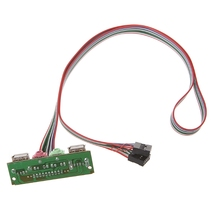 Популярный ПК чехол для компьютера Передняя панель USB аудио порт микрофон кабель для наушников Новинка