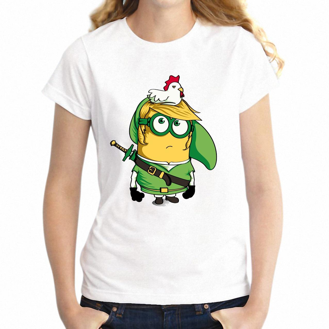 Tshirt - Zelda Minion Funny