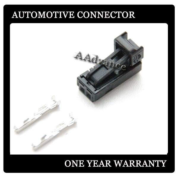 Vag 2 Pin Wire Harness Connector Kits 4b0971832 For