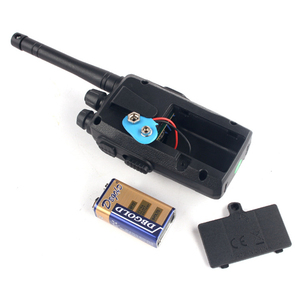 Image 3 - 2 adet çocuk oyuncağı Walkie Talkie taşınabilir radyo elektronik interkom çocuklar interkom Juguete Mini Woki Toki iki yönlü telsiz