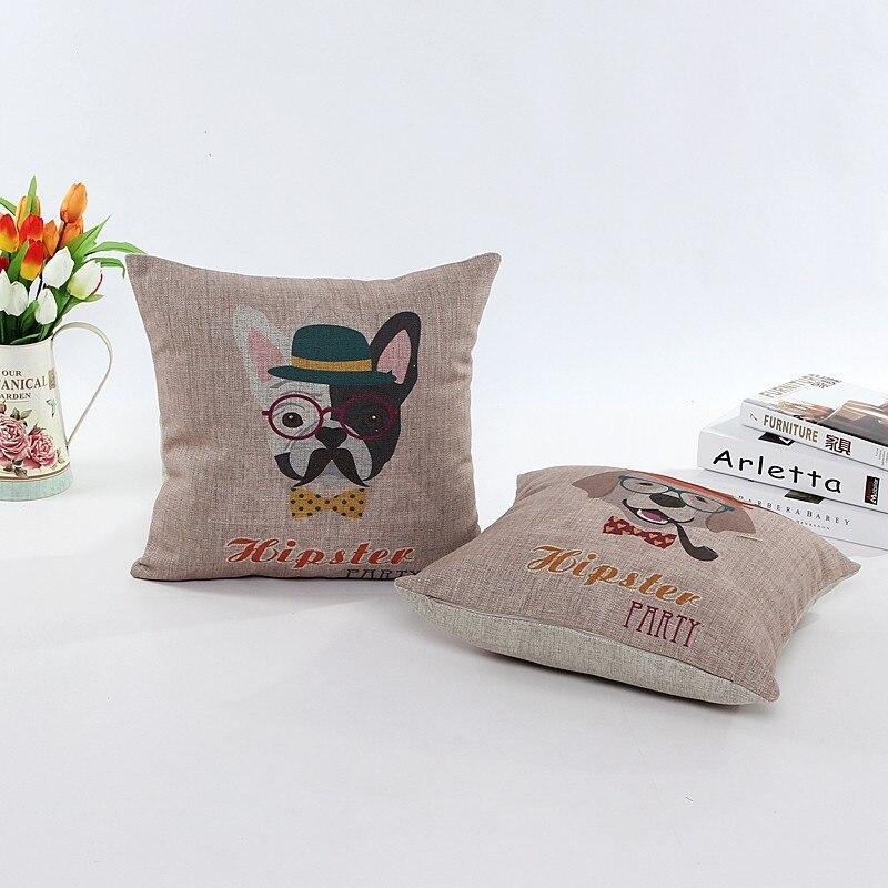 ツ)_/¯Silla almohada cojines decorativos cojín de lino almofadas ...