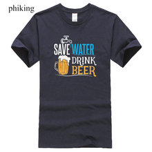 """Save Water Drink Beer"" men's t-shirt"