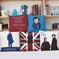 Шерлок Холмс чехлы Home Decor Диван Кресло автомобиля украшения чехол almofada cojines