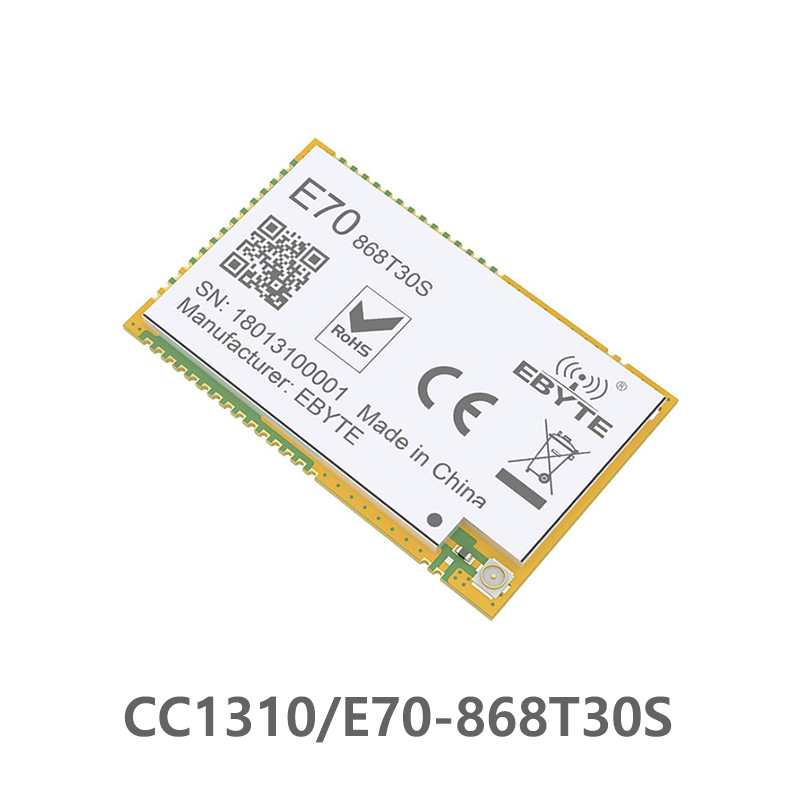 E70 868T30S 1 ワット CC1310 モジュール 868MHz IPEX スタンプ穴アンテナ uhf 無線トランシーバトランスミッタレシーバ -    グループ上の 携帯電話 & 電気通信 からの 据え付け無線端末 の中