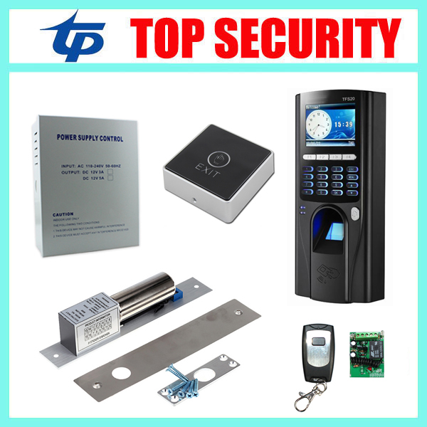 Standalone biometric fingerprint recognition time attendance and access control board TCP/IP fingerprint door access controller