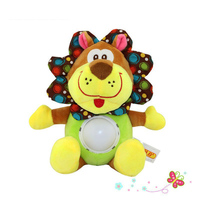 Baby Plush Toy Forest Animals Butterfly Lion Doll Children Kids Music Electric Toys with Sound and Light Multifunction Toy Gifts
