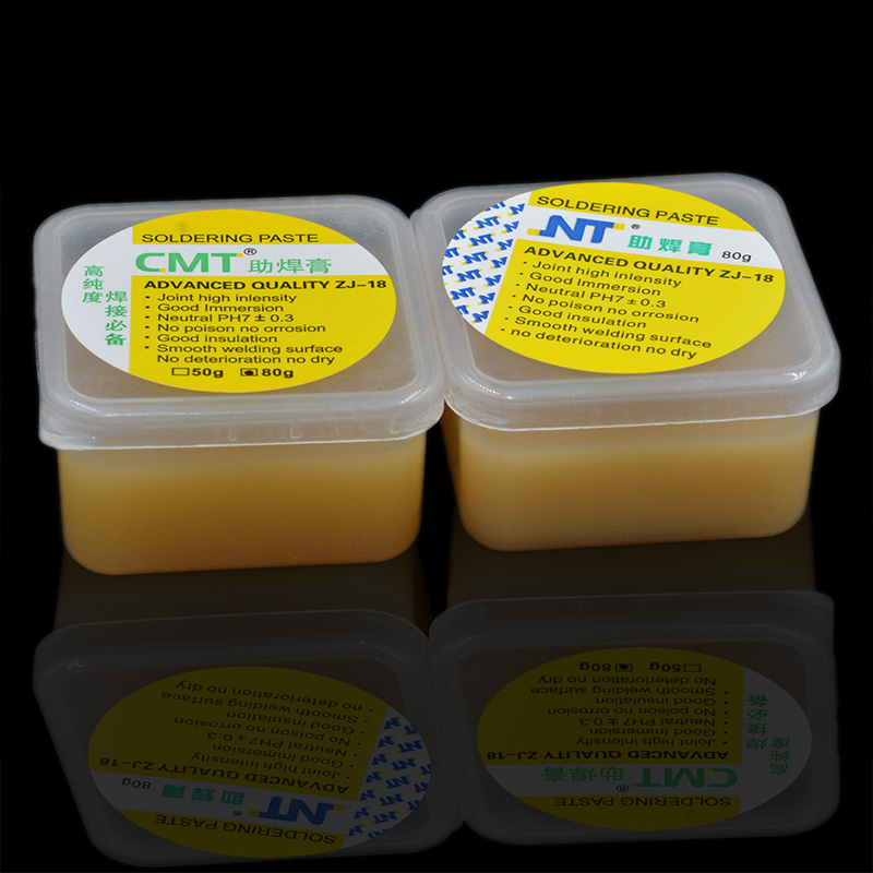 1pc ZJ-18 50g Environmental Soldering Solder Welding Fluxes Paste Grease Gel Solder Paste For Bga Rework Station