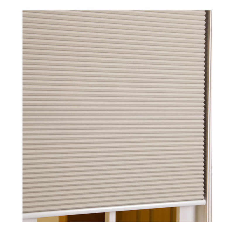 Window Blinds Shading Cordless Honeycomb Shades Blackout Fabric Curtain Aluminum Up Down Track Push-Up Handle Good Opacity