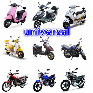 Image 4 - 46*45CM FOR 125CC 150CC Motorcycle Windscreen Deflector Wind Deflector Wind shield Windscherm Scooter FREE SHIPPING