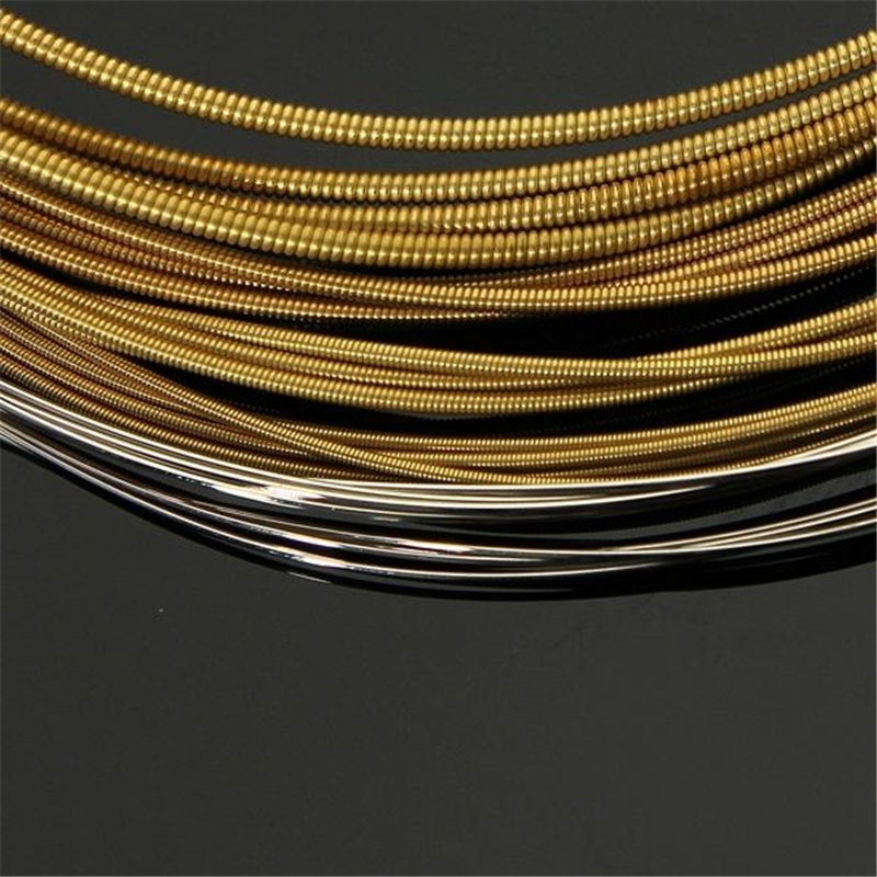 Acoustic Guitar Strings set 010  A60XL 010-048 Stainless Steel Phosphor Bronze  Acoustic Wond Strings 6strings/set