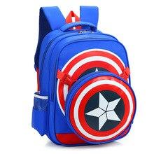 2017 captain America Schultaschen für Jungen Studenten Umhängetasche Reisetasche Schultasche Hochwertigem Kinder Rucksäcke Mochila Geschenk