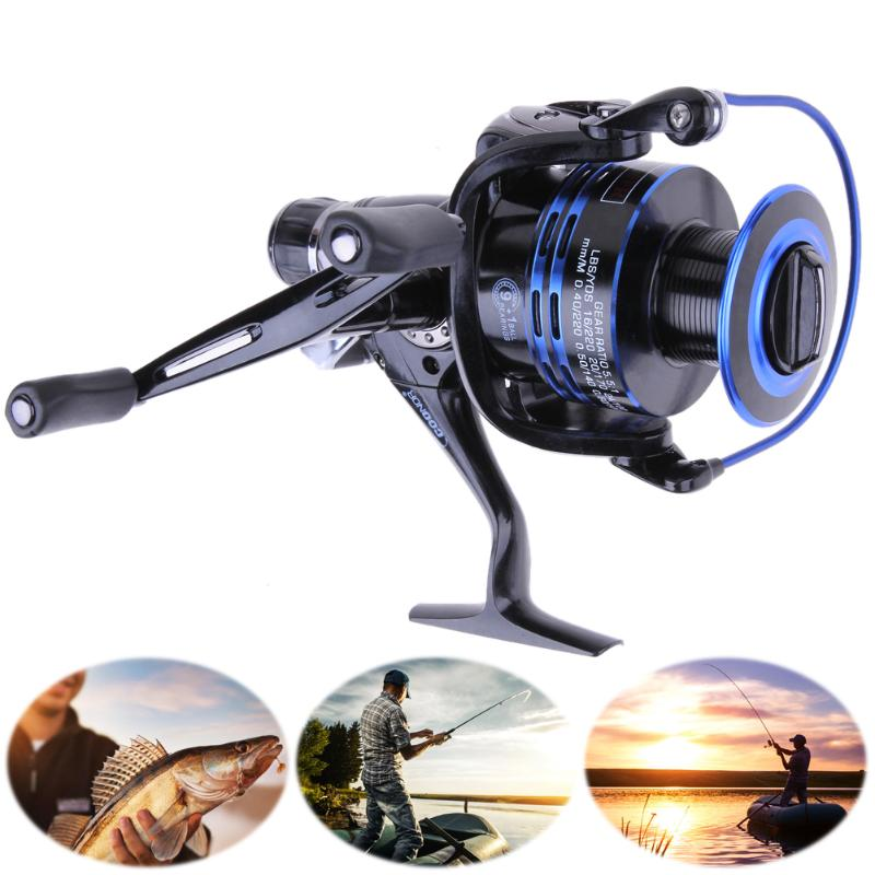 New Blue 4 Modles Fishing Reels Upgrading Drag Spinning Reel With Extra Spool Saltwater Fishing Tools
