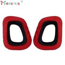 Para Almohadillas para G230 Logitech G35 G930 G430 F450 Gaming Headset Negro & Red_KXL0222
