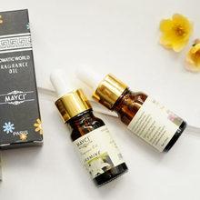 10ml Pure Essential Oil Room Perfume Aromatherapy Lamp Scented Oil Lavender Rose Jasmine Green Tea Sandalwood