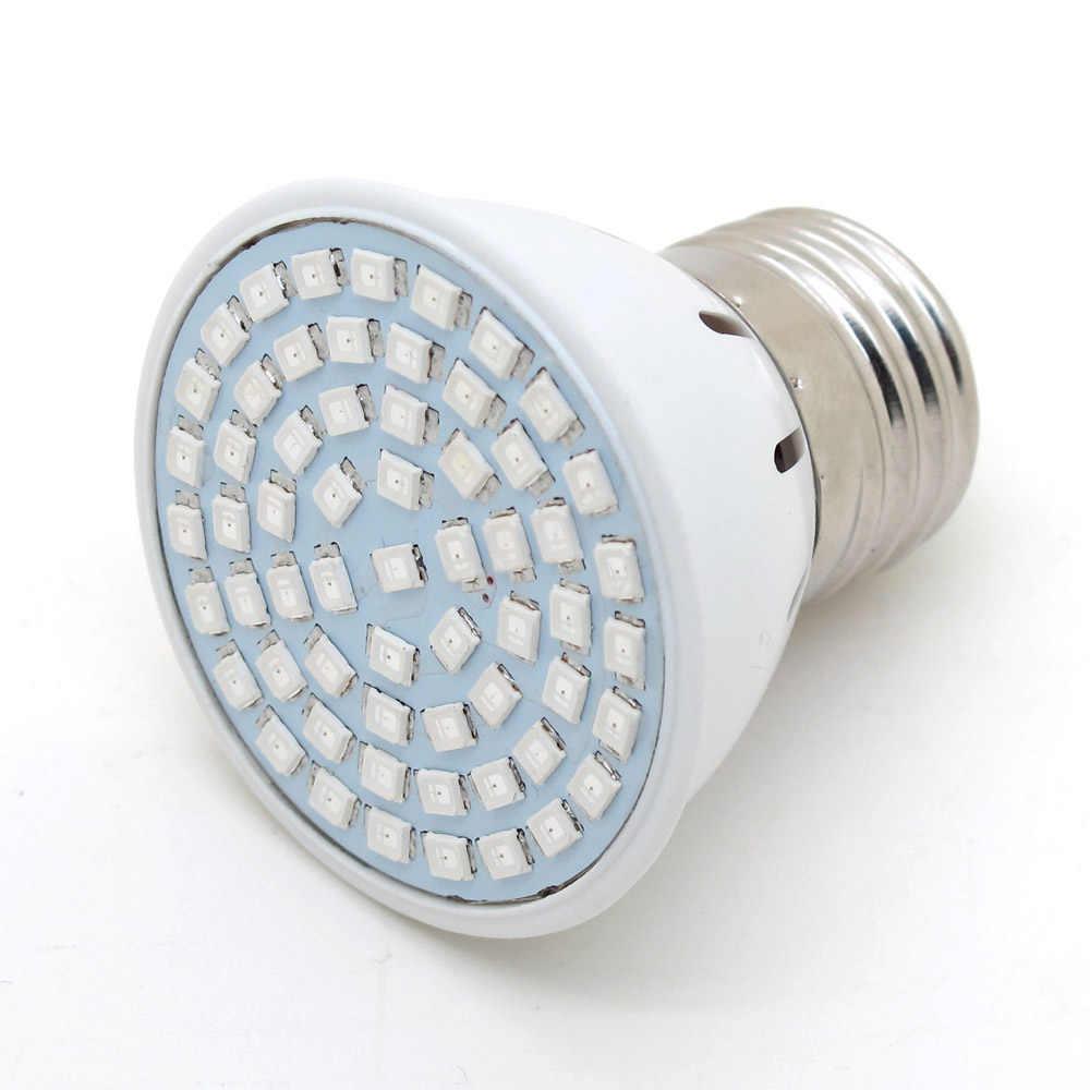 LED Crescere E27 12W Della Luce di Lampadina di CA 220V Spettro Completo 60SMD Piante da Interno Lampada Per Il Fiore Piantina Idroponica sistema Tenda