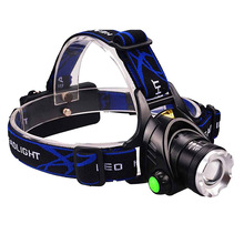 PANYUE Aluminum High Power 1000 Lumen Strong Light Quality Zoomable Outdoor Camping XM-L T6 LED Headlamp Rechargeable