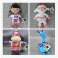 Free shipping 1pcs Doc McStuffins Clinic  The Hippo Dragon McStuffin Lambie sheep Hallie dog  stuffed doll plush toys